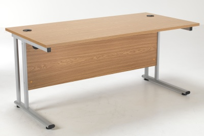 Flite Rectangular Desk In Oak