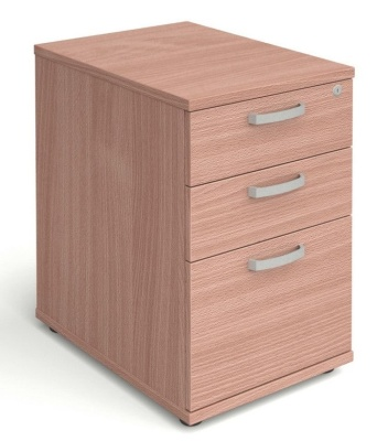Desk Height Pedstal In Beech