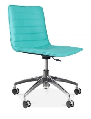 Deco Chair In Turquoise Front Angle