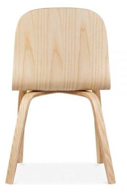 Helsinki Dining Chair Natural Finsh Rear Shot