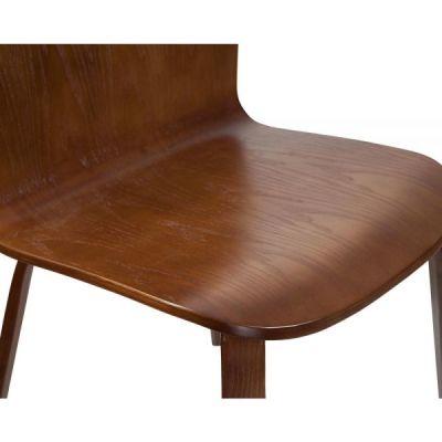 Helsinki Chair Walnut Detail Shot