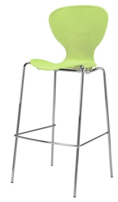 Piazza Poly High Chair Lime Green