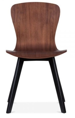 Manhattan Dining Chair With Black Legs Front View