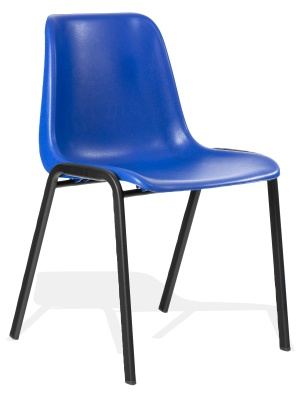 Star Next Day Poly Chair Uin Blue