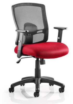 Corbett Chair Red Seat
