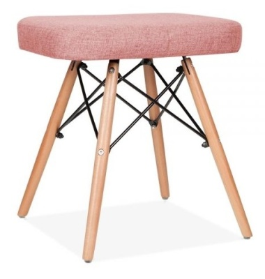 Eames Inpired Dsw Stool Angled Shot