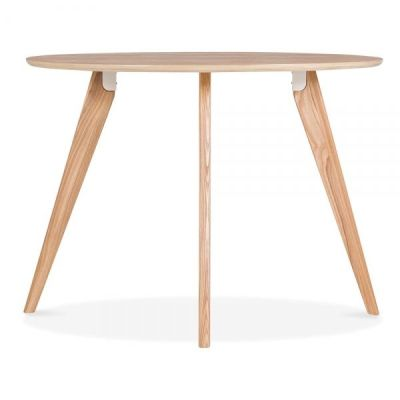 Oslo Round Table Natural Finish 2