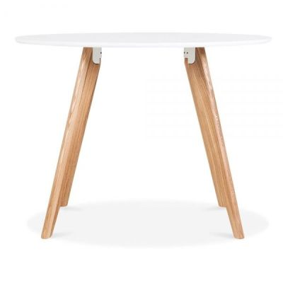 Oslo Round Table White Top 2