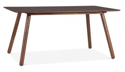 Sydney Rectangular Dining Table In Walnut Angle Shot