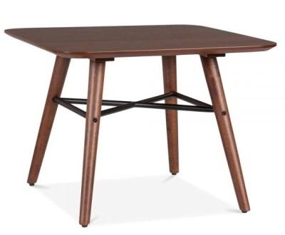 Omega Walnut Coffee Table Angle View