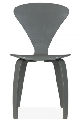 Cherner Chair Dark Grey Front Face