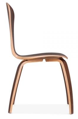 Cherner Chair In Walnut Side View