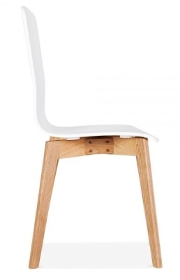 Acora Designer Cafe Chair Side View