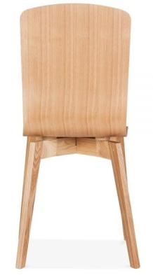 Acora Chair Natural Rear Shot