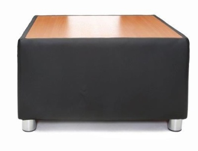 Tritium Faux Leather Coffee Table