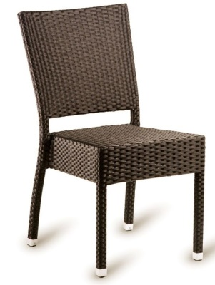 Susie Side Chair Mocca Weave