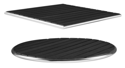 Black Like Wood Table Tops