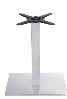 Cadiz Brushed Steel Extra Large Table Base
