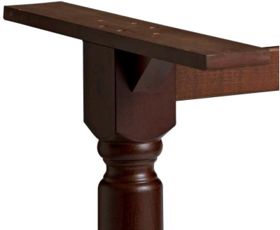 Winsdor Rectangular Table Base Detail