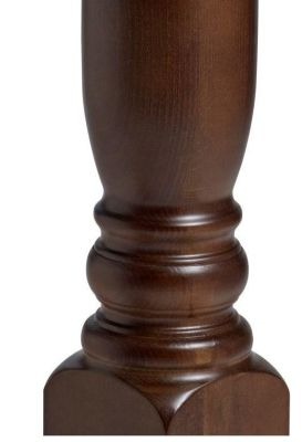 Windor Wooden Table Base Column Detail