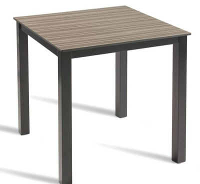 Extreme Dining Table With A Zebrano Top