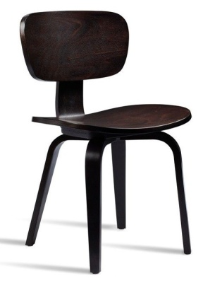 Paris Side Chair In Wenge