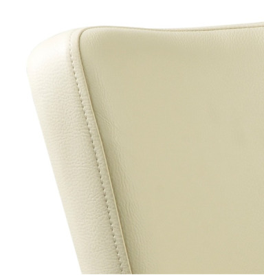 Dihon Armchair Cream Leather Detail