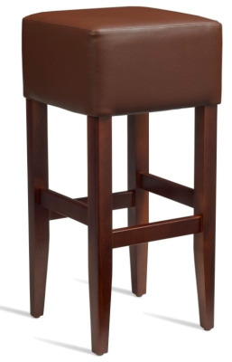 Dinon High Stool Brown Leather
