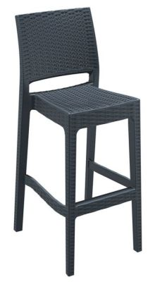 Konan Outdoor Plastic High Stool