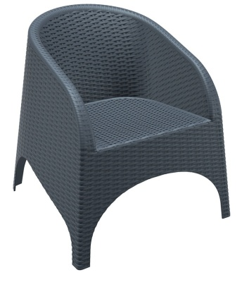 Konan Moulded Plastic Tub Chair