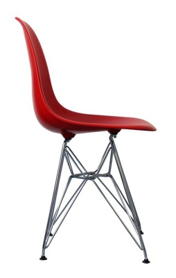 Eames Inspired Dsr Childs Chair Side View