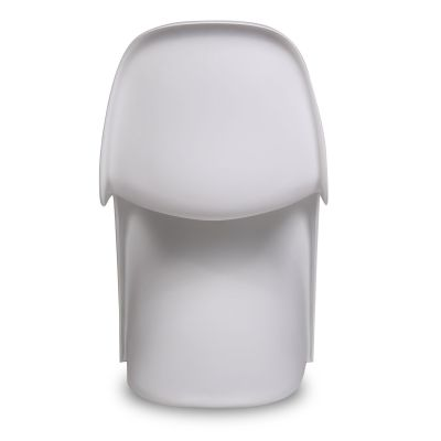 Junior Panton Chair In White Rear View