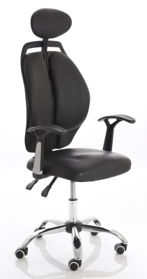Spire Ergonomic Chair Front Angle