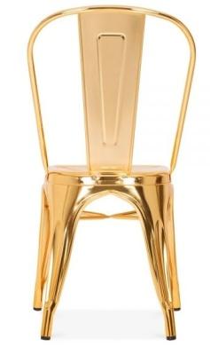 Xavier Pauchard Gold Chair Rear View