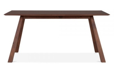 Hamburg Rectangular Dining Table Front View