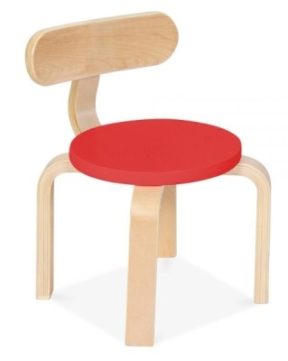 Chill Childrens Plywood Chair With A Rad Seat