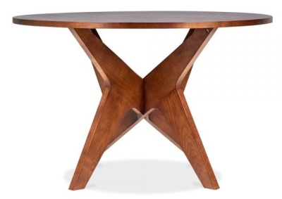 Icon Walnut Round Table 2