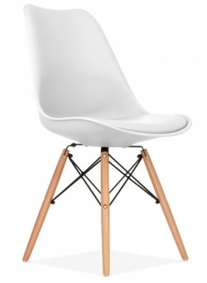 Eames Inspired White Dining Set Online Reality