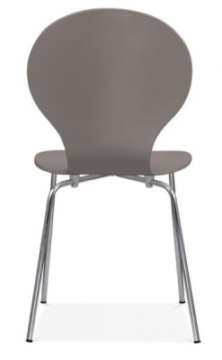 Butterfly Chair In Warm Grey Rear View