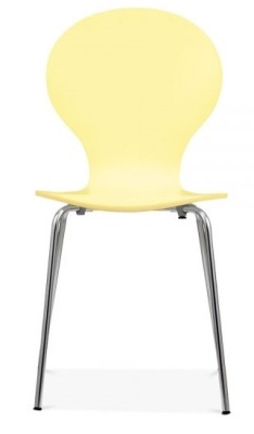 Butterfly Chair In Lemon Front Face