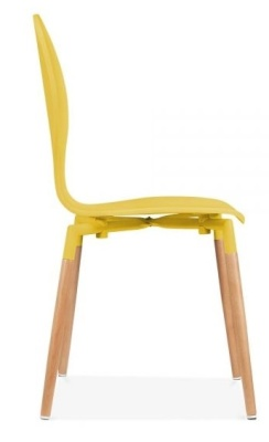 Butterfly Nouveau Chair In Yellow Side View