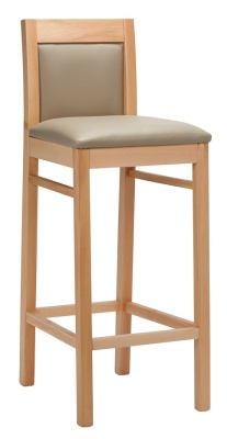 Marco Wooden High Stool