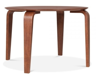 Stylo Round Table In Walnut