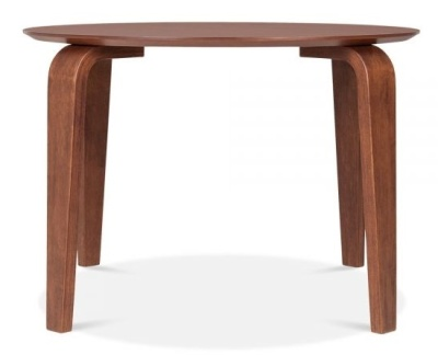 Stylo Round Table In Walnut 2