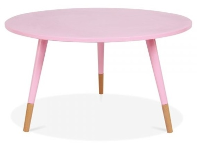 Tapaz Table In Pastel Pink