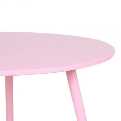 Topaz Table In Pink Detail Shot