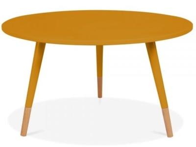 Topaz Table Mustard Finish