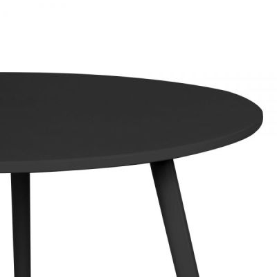 Topaz Table Black Detail Shot