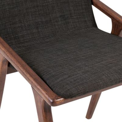 Welbec Chair Dark Grey Detail