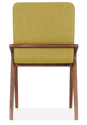 Welbec Chair Olive Fabric Rear View